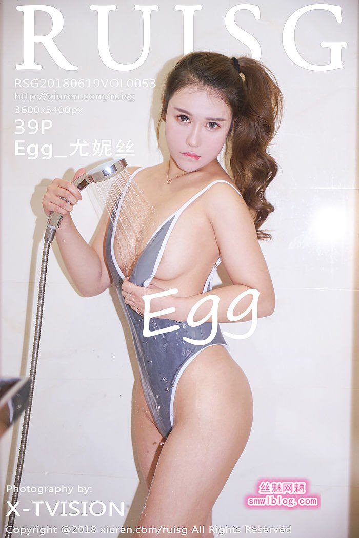 [RUISG瑞丝馆]2018.06.19 VOL.053 Egg_尤妮丝[39+1P/80.2M]